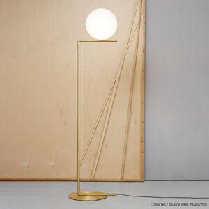 FLOS FLOS IC F2 stojací lampa mosaz kartáčovaná