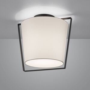 Helestra Helestra Uka stropní světlo textilní stínidlo bílá