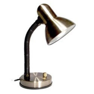 KADET stolní lampička 3092 PATINA E27 se stmívačem