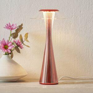 Kartell Kartell Space LED stolní lampa červená