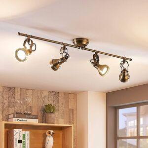 Lindby Podlouhlé stropní osvětlení Perseas, GU10 LED