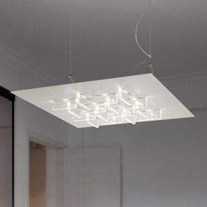 BRAGA Závěsné světlo LED Cristalli 50x50 cm bílé