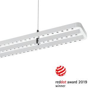 PERFORMANCE LIGHTING LED závěsné světlo Small Line, senzor, 156cm, bílá