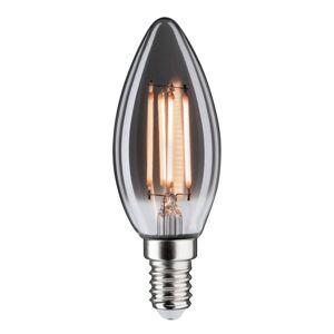 Paulmann LED žárovka-svíčka E14 4W 2200K kouřová stmívací