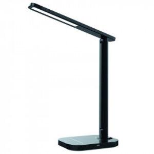 LED lampička KIARA 7W stmívatelná s USB +noč.světlo+časovač - DL4304/B Nedes DL4304/B
