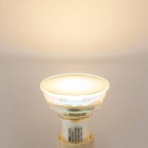 Arcchio LED bodové světlo GU10 5W 3 000K 120° sklo