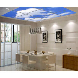 LED světelný panel 120x60 cm s dekorativním motivem - nebe ORTUS TRADE 20/6/2/2