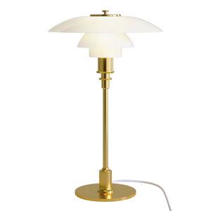 Louis Poulsen Louis Poulsen PH 3/2 stolní lampa mosaz-bílá