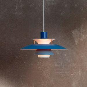 Louis Poulsen Louis Poulsen PH 5 Mini - závěsné světlo, modré