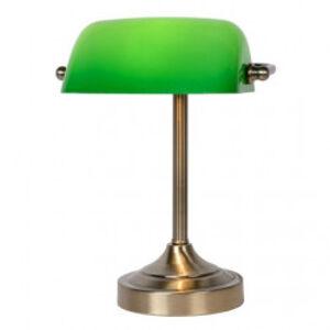 Lucide 17504/01/03 - Stolní lampa BANKER 1xE14/ESL 11W/230V