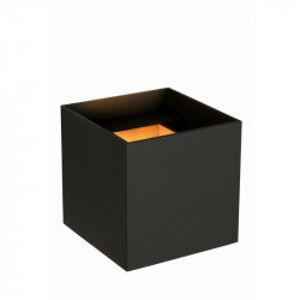 Lucide AXI nástěnné bodové svítidlo hranaté koupelnové Led černá