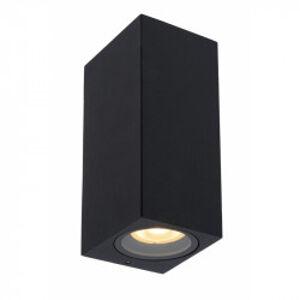 Lucide ZARO stropní bodové svítidlo koupelnové 2xgu černá