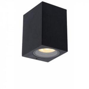 Lucide ZARO stropní bodové svítidlo koupelnové černá