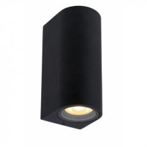 Lucide ZARO stropní bodové svítidlo koupelnové kulaté 2xGU10 černá