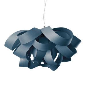 LZF LamPS LZF Agatha Small závěsné světlo, 78x76cm, modrá