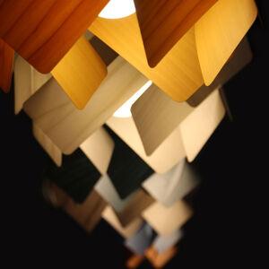 LZF LamPS LZF Escape závěsné světlo, Ø 30 cm, oranžová