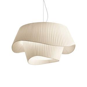 MODO LUCE Modo Luce Cocó Textil-závěsné světlo Ø 60cm béžová