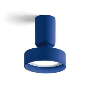 MODO LUCE Modo Luce Hammer stropní světlo Ø 18cm tmavě modrá
