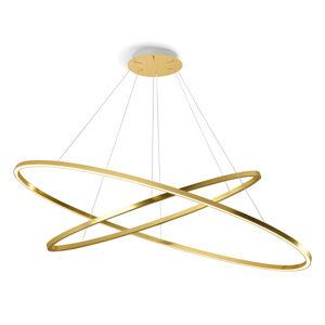 NEMO Nemo Ellisse Double závěsné světlo 2700K zlatý lak