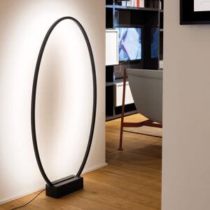 NEMO Nemo Ellisse LED stojací lampa 2 700 K černá