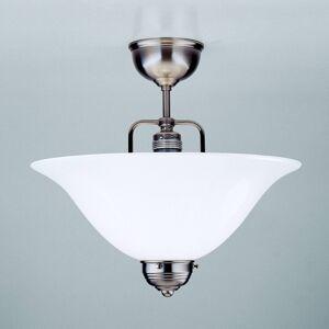 Berliner Messinglamp Niklované stropní světlo ROSA, ručně vyrobené