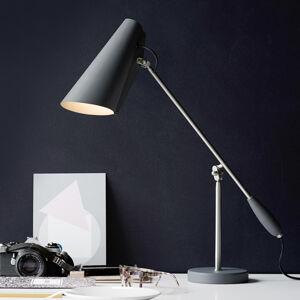 Northern Northern Birdy - Retro stolní lampa, šedá
