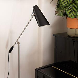 Northern Northern Birdy - stojací lampa v černé a ocel