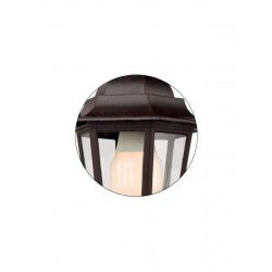 Redo 6102R - Venkovní nástěnné svítidlo LONDON 1xE27/42W/230V IP33 REDO 6102R