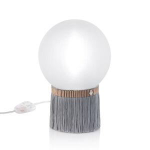 Slamp Slamp Atmosfera stolní lampa Fringe 20 cm šedá