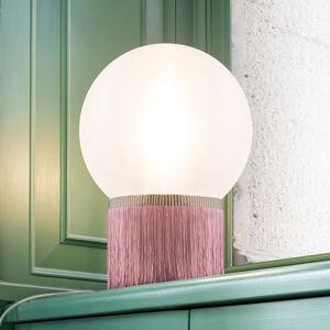 Slamp Slamp Atmosfera stolní lampa Fringe 20 cm růžová