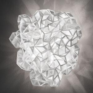 Slamp Slamp Drusa - designové nástěnné světlo, bílé