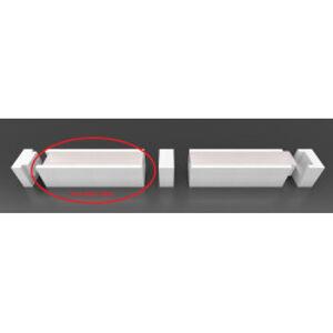 Stropní / nástěnná přisazená linie LED 2m - ECO-DESIGN