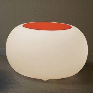 Moree Stůl BUBBLE Indoor LED E27 žárovka + plsť oranžová