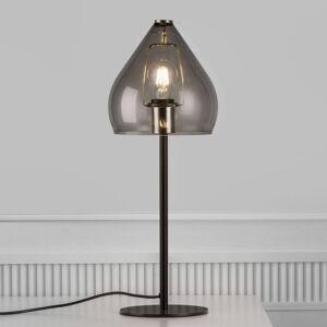 Nordlux Stolní lampa Sence se stínidlem E27 - kouřově šedá