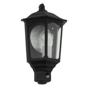 Eglo 97259 - Venkovní nástěnné svítidlo se senzorem MANERBIO 1xE27/60W/230V IP44 EGLO 97259