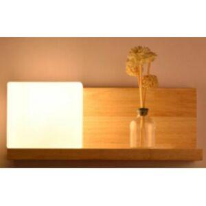 Vista nástěnné svítidlo VWBW06 - dřevo přírodní - sklo VISTA DEVELOPMENT LIMITED VWBW06