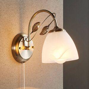 Lindby Nástěnná lampa Michalina v klasickém stylu